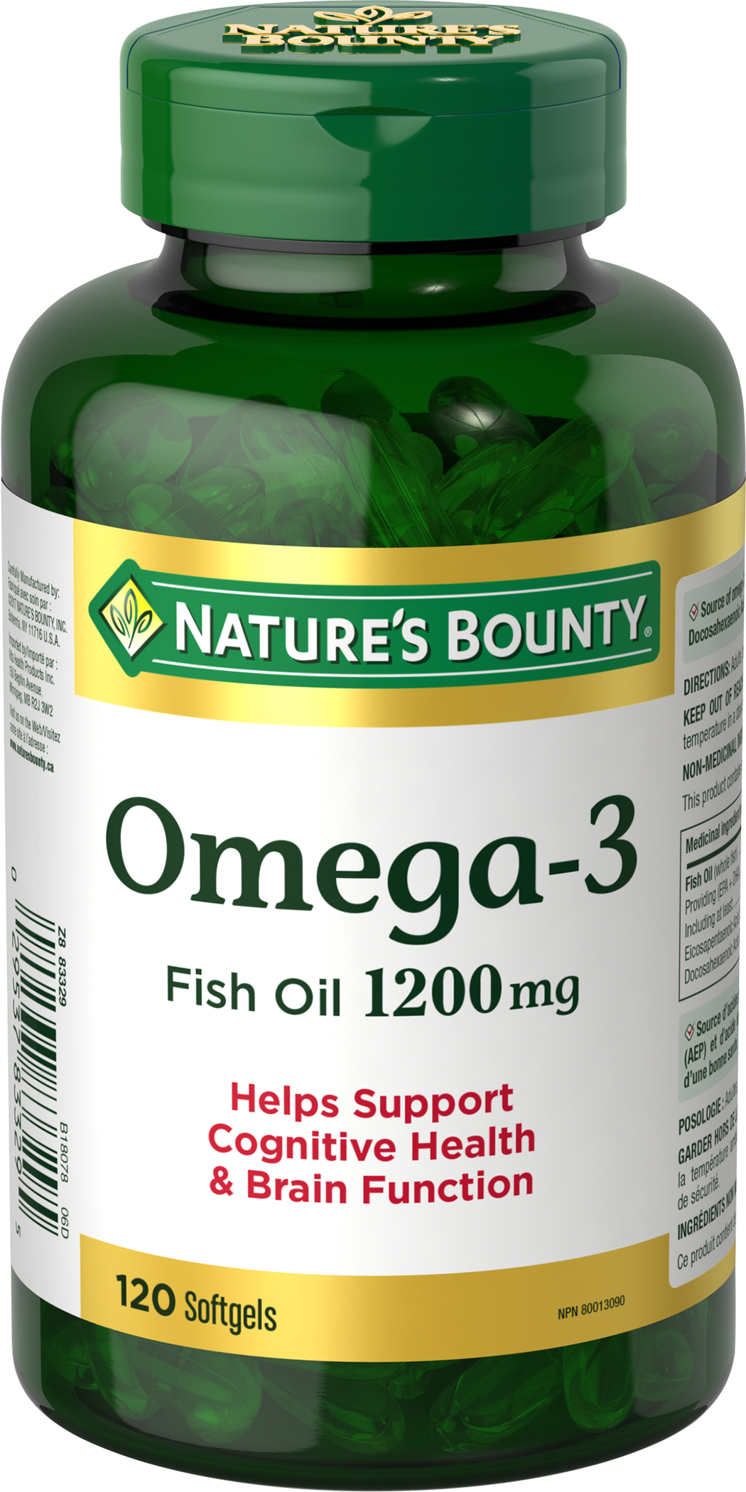 Omega-3 Fish Oil 1200mg