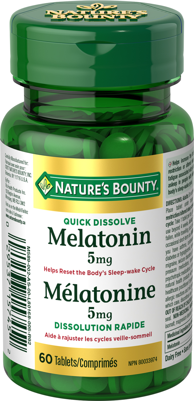 Mélatonine 5 mg
