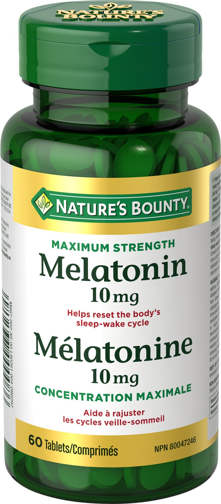 Mélatonine 10 mg