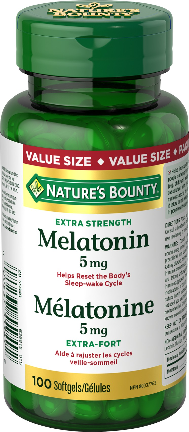 Melatonin 5 mg Softgels