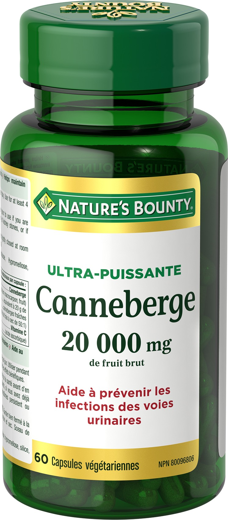 Canneberge Ultra-Puissante